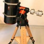 Le ASA : un backfocus trop petit pour imager avec un diviseur optique