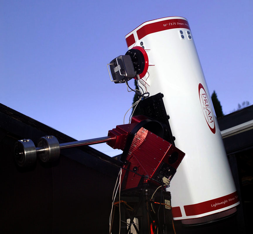 Le dreamtelescope : un superbe Newton mais très cher