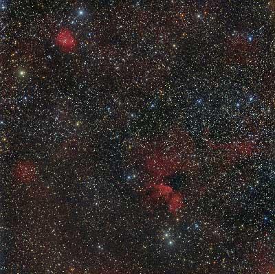 SNR-G114.3 - Sh2-163 - Sh2-165 - Sh2-166 - Ldu-13 Image