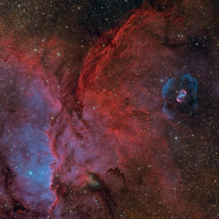 ngc6188 SHO par Ciel austral