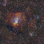 ngc7635-m52 SHO Image