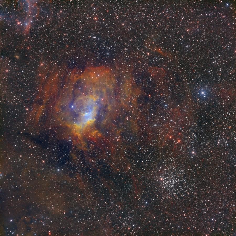 NGC 7635-M52-SHO